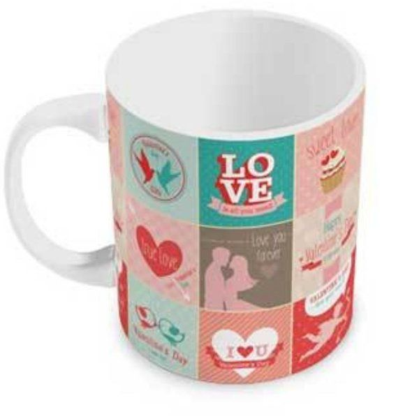 Indigifts Colourful Love Story Collage Coffee Mug Coffee Mugs For Husband