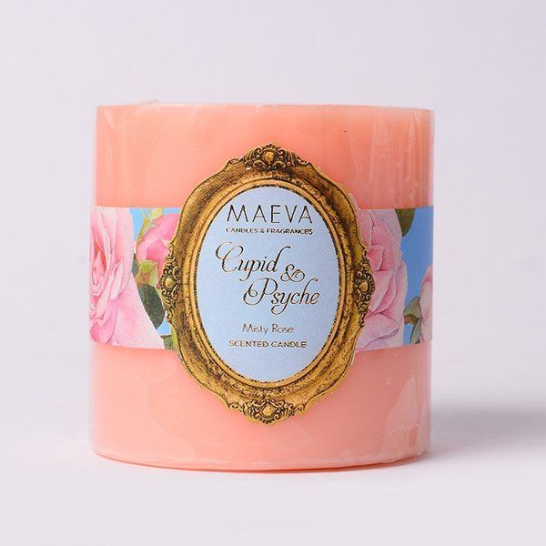 TheMaevaStore Cupid & Psyche Pillar Candle - S Useful Gift For Mom