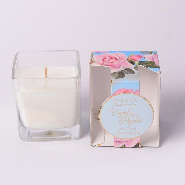TheMaevaStore Cupid & Psyche Square Candle 60th Birthday Gifts For Mom