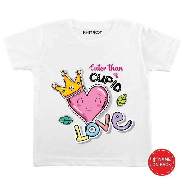 Knitroot Cuter Than Cupid Love Personalized T-Shirt Cute Gifts For Best Friend