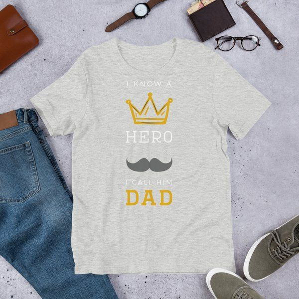 Privy Express Dad is my Hero T-shirt Dad To Be Gifts