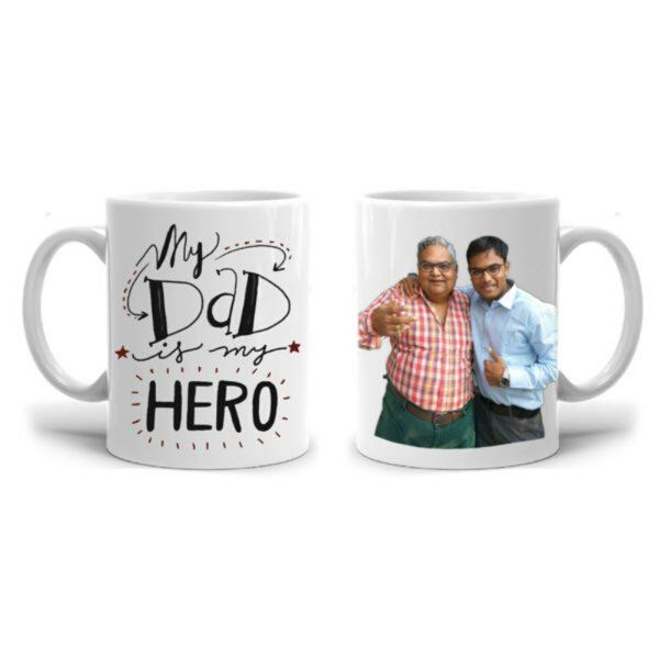Zoci Voci Dad -My Hero Personalized Mug Useful Gifts For Dad