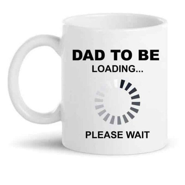 Knitroot Dad to Be Loading Mug Dad To Be Gifts