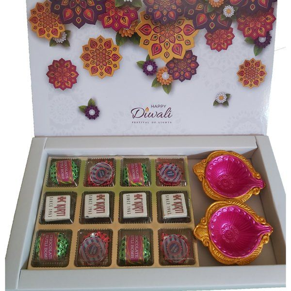 Corporate Diwali Gifts Hamper with Ecofriendly Crackers Chocolates