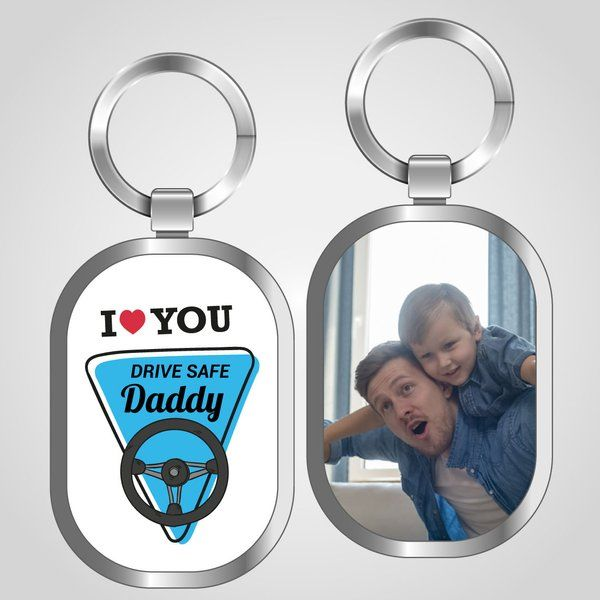 Privy Express Drive Safe Dad Keychain Dad Keychains