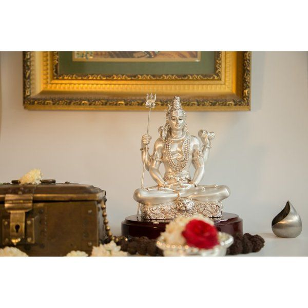 Estudiointernational Exclusive Silver Lord Shiva Expensive Gifts For Wife