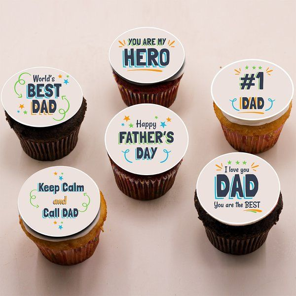 CakeZone Father's Day Cupcakes Simple Fathers Day Gifts