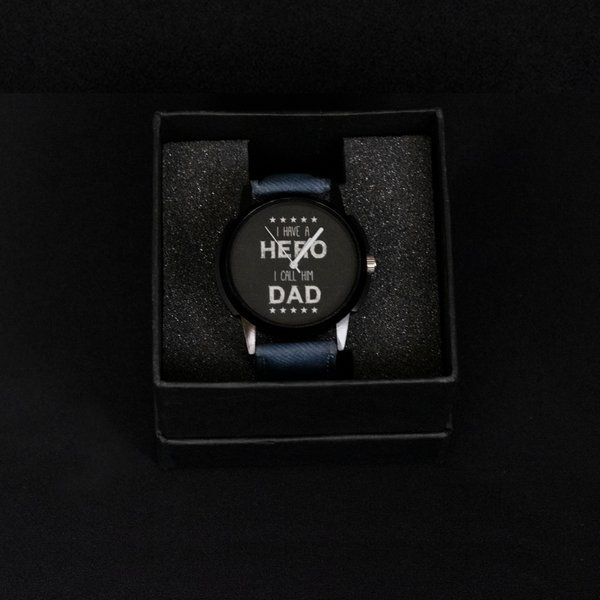 Hoods & Bonds Father's Day Designer Wrist Watch  Unique Gifts For Dad