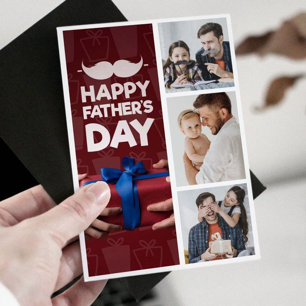 Privy Express Father's Day Personalised Greeting Card  Greeting Card For Fathers Day