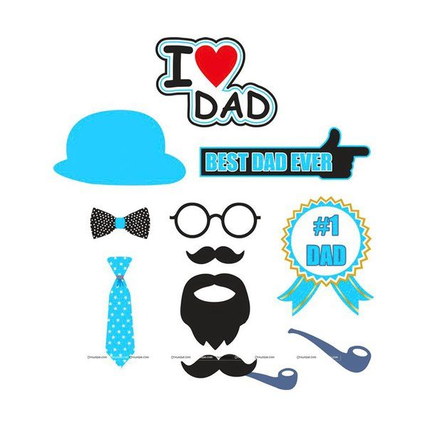 Untumble Fathers Day Photo Props Simple Fathers Day Gifts