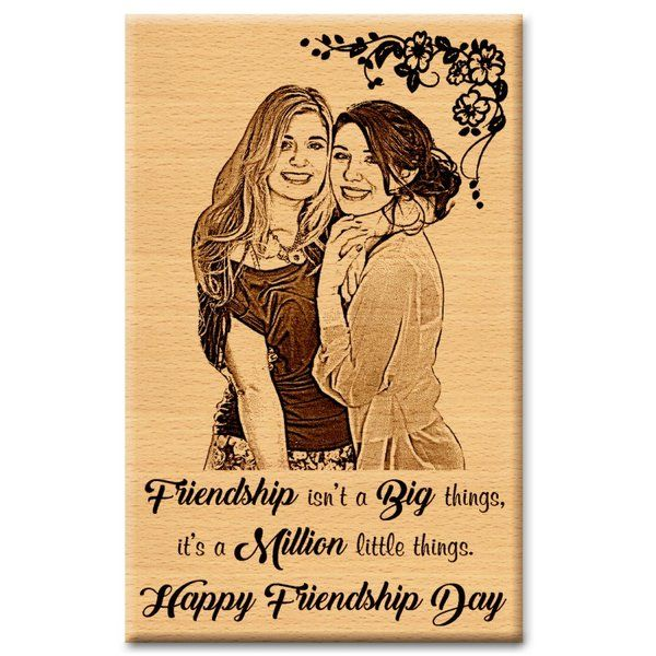 Incredible Gifts Friendship Gift Photo Plaque for Best Friend Unique Wedding Gifts For Best Friend