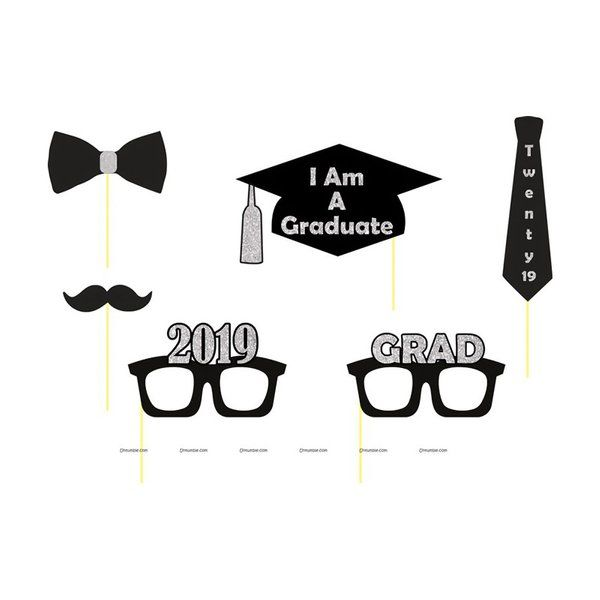 Untumble Graduation Party Photo Props Graduation Day Celebration