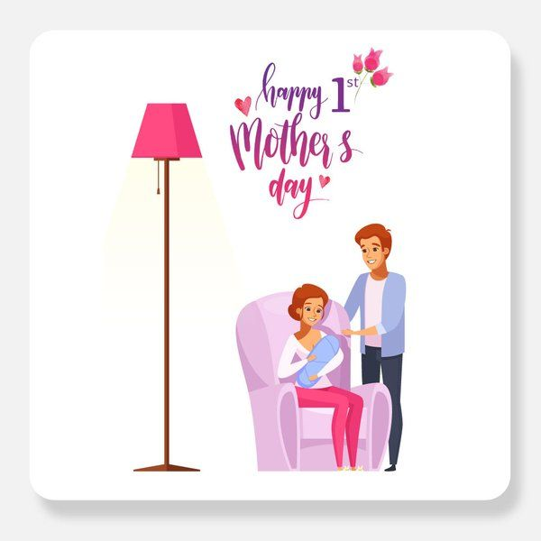 Happy 1st Mother's Day Greetings Cards