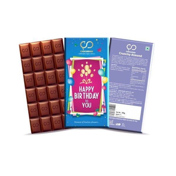 Chocodusk Happy Birthday To You Blue Gift For Cousin Sister