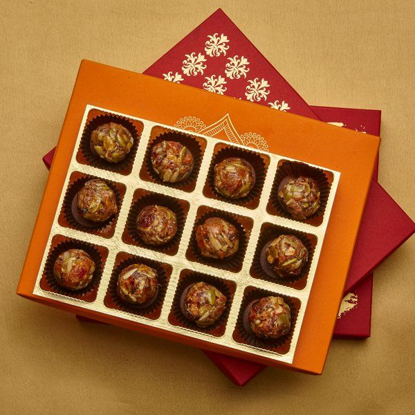 Jus'Trufs Chocolatiers Healthy Nut and Seed Bites Handmade Anniversary Cards For Mom And Dad