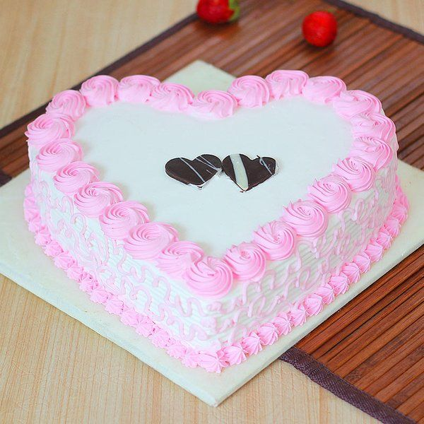Hearty Mesmerizer Cake For Wife