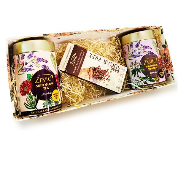 Best Diwali Gifts for Corporate Herbal Teas and Chocolate Gift Pack