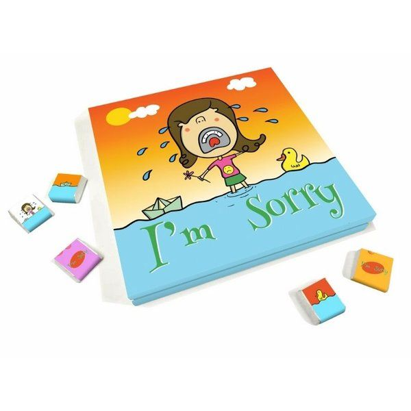 Dear Chocolates I Am Sorry Girls Chocolate Gift Box Twin Sister Gifts