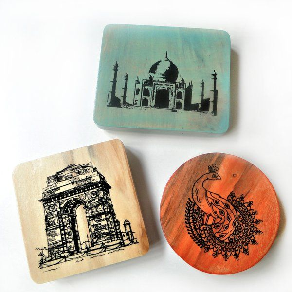 Ivei IVEI India Souvenir Magnets - Set of 3 Useful Gifts For Sister