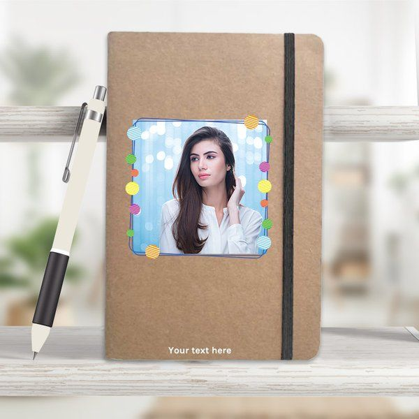 Privy Express Khaki Eco Friendly Personalised Journal  Gifts For 17 Year Old Girls