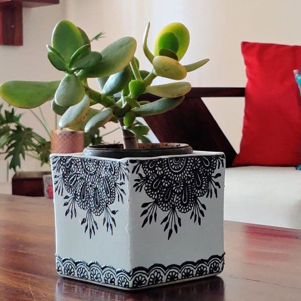 EitherOrr Lacework Flower Planter Retirement Gift For Father