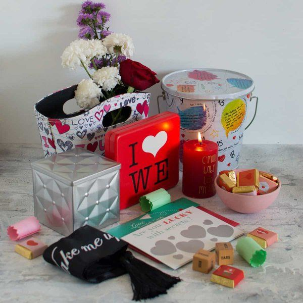 Dottedi Let's Play Love Hamper 2nd Anniversary Gift For Wife