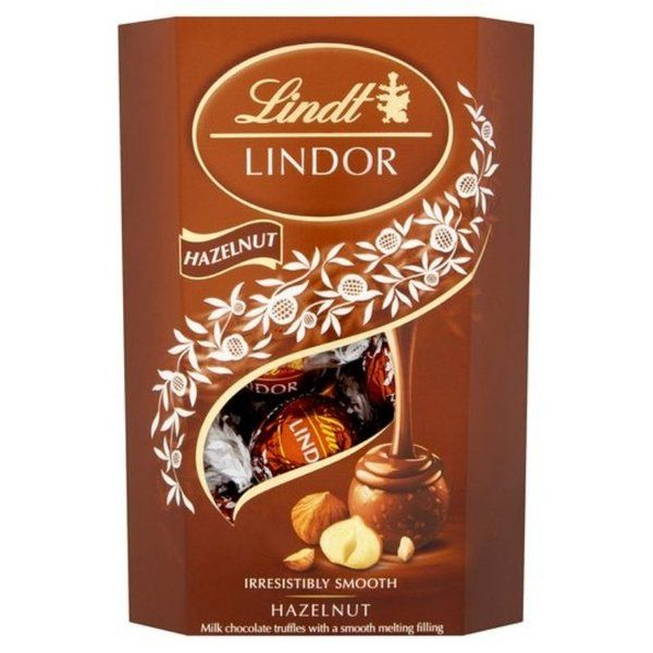 Lindor Hazelnut Truffle Carton 200g Best Gift Ideas for Girlfriend under 1000