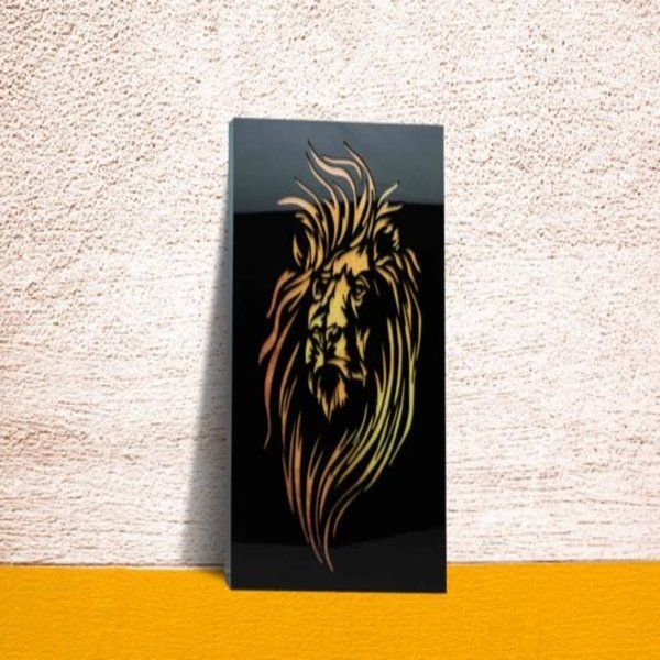 Zoci Voci Lion's Den - Home Decor Wall Frame 25th Anniversary Gift Ideas For Friends