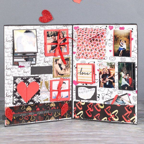 FlowerAura Love Forever Scrapbook Romantic Valentines Gifts For Husband