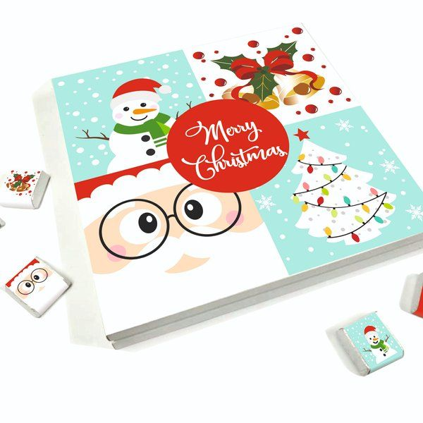 Dear Chocolates Merry Christmas Chocolate Gift Box  Christmas Gifts For Friends