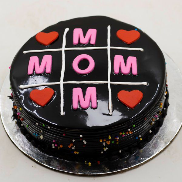 CakeZone MOM Crossword Chocolate Cake Gifts For Mom
