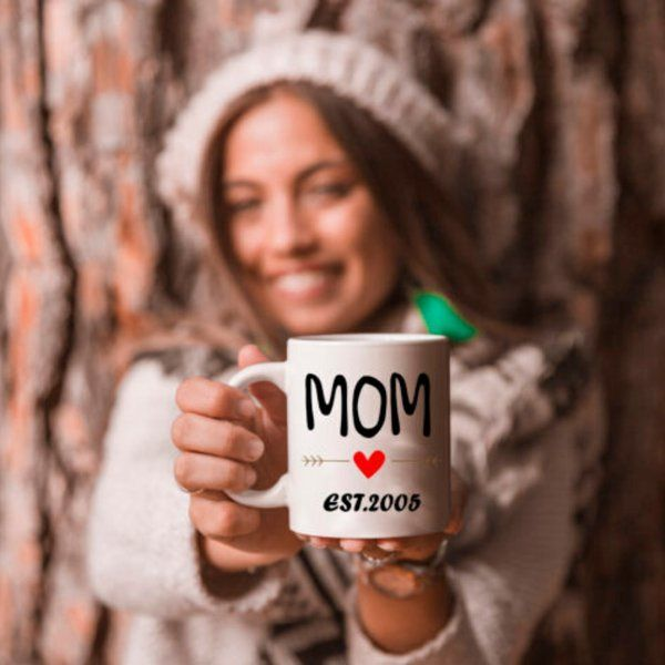 Zoci Voci Mom - My World Mug Small Gifts For Mom