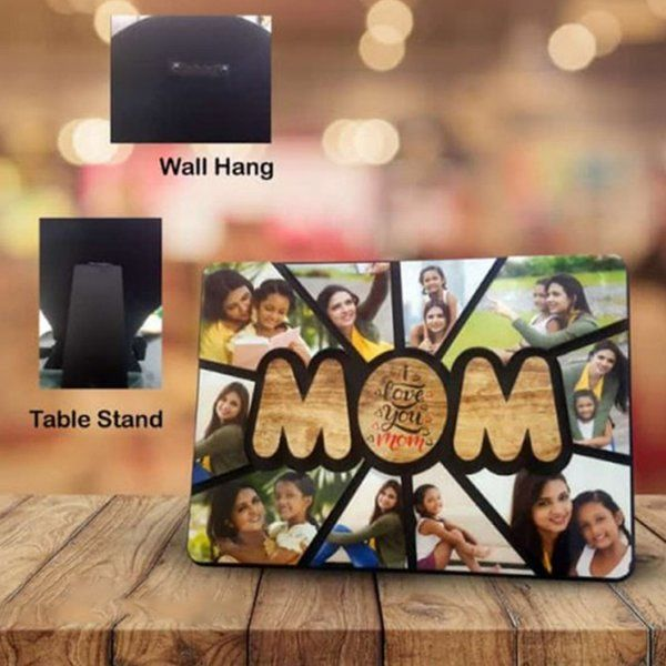 Waah Craft Mom Personalized Photos Collage Relation Frame Mom Photo Frame