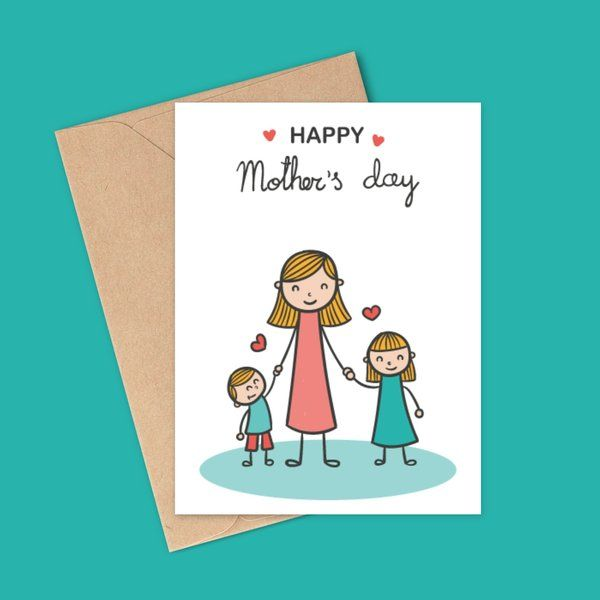 Privy Express Mother's Day Greeting Card Mothers Day Greeting Cards
