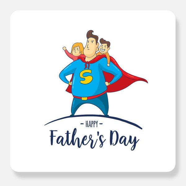 Privy Express My Dad is a Superhero Birthday Card For Father
