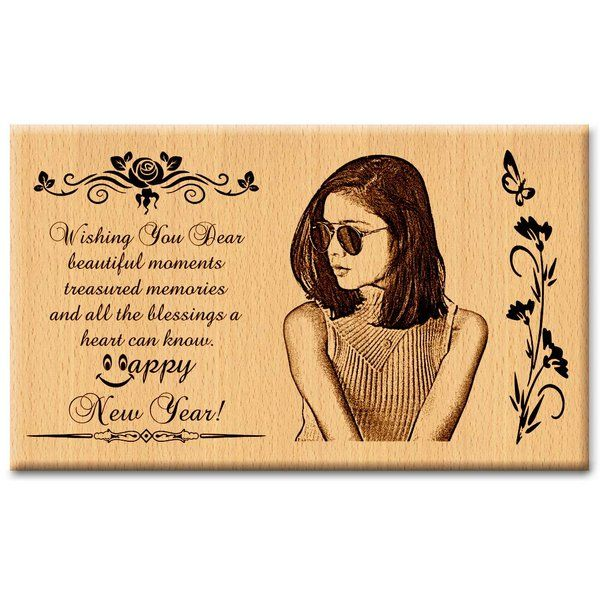 Incredible Gifts New Year Personalized Engraved Plaque for Friend Birthday Gift Ideas For Friends