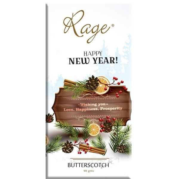 Rage Chocolatier New Year Prosperity Milk Chocolate New Year Gift For Wife