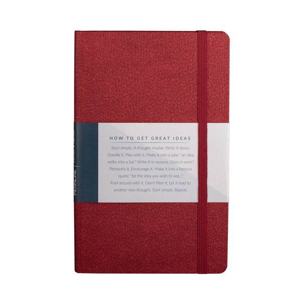 Pennline Notebook A5 Hard Bound - Maroon Retirement Gift For Father