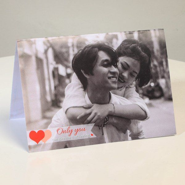 FlowerAura Only You For Me Valentine Card For Husband