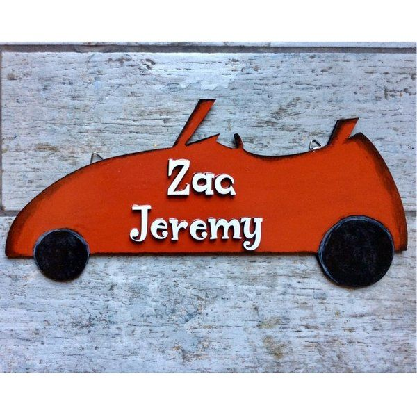 Hitchki Open Car Boys Nameplate 25th Birthday Gift For Brother