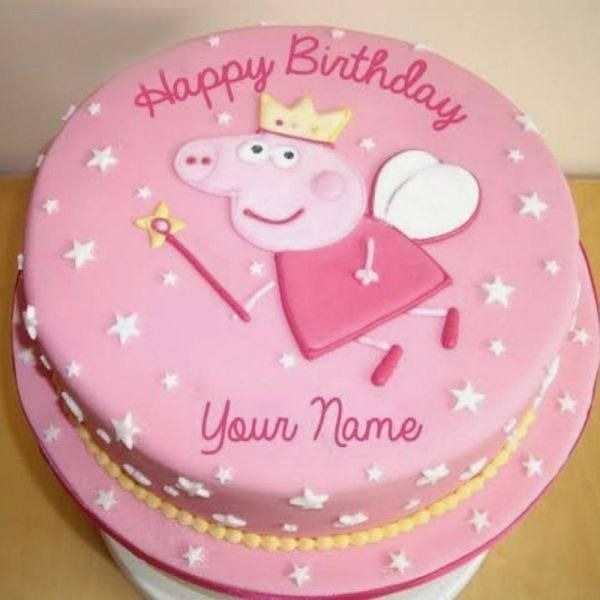 CakeZone Peppa Pig Cake Simple Gift For Sister