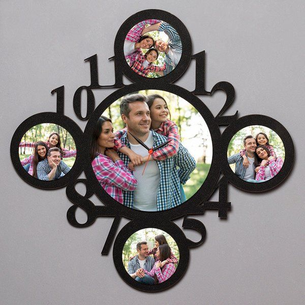 FlowerAura Personalized Clock Unique Gifts For Wife