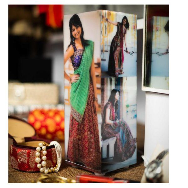 Zoci Voci Personalized Gift Tower Photo Lamp Memorable Gifts For Girlfriend