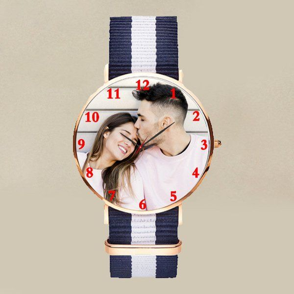 FlowerAura Personalized Watch for a Stylish Lady Memorable Gifts For Girlfriend
