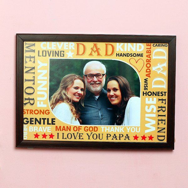 FlowerAura Picture Perfect Frame Gifts For Dad