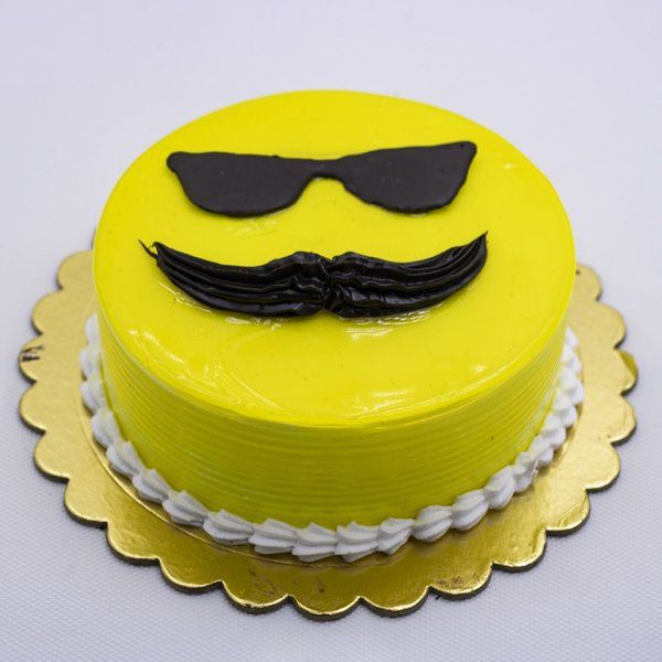 CakeZone Pineapple Dad Cake Last Minute Fathers Day Gifts