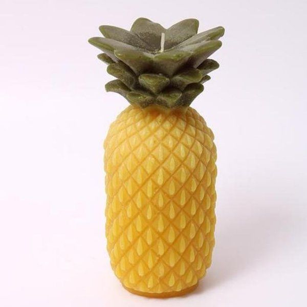 Best 75th Birthday Gifts for Dad Pineapple Scented Candle - GiftIdeas