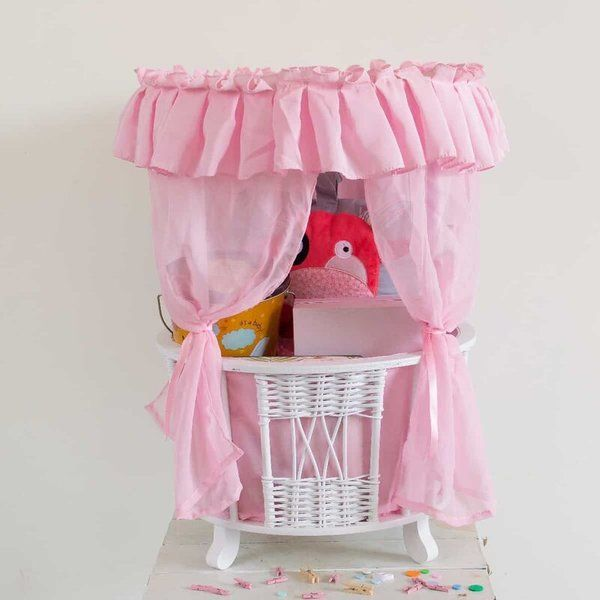 Dottedi Pink Basket Hamper Mom To Be Hamper