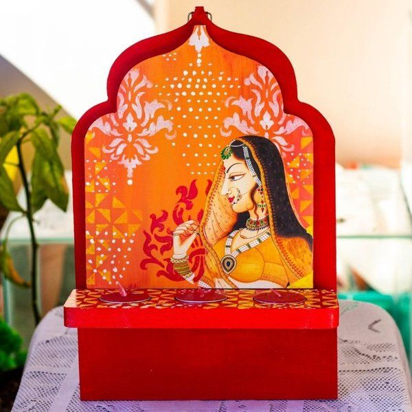 Decorative Tea Light Holder Housewarming Gifts for Indian Family