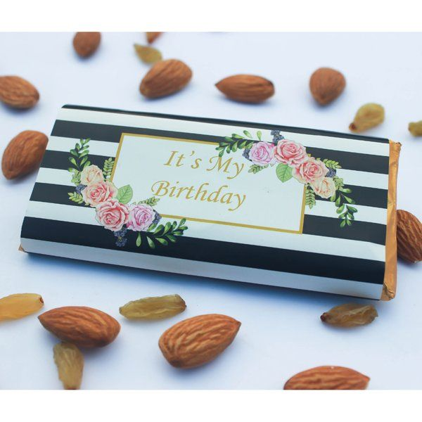 Privy Express Return Gift Personalised Chocolate Bar Gift For Girlfriend Under 200
